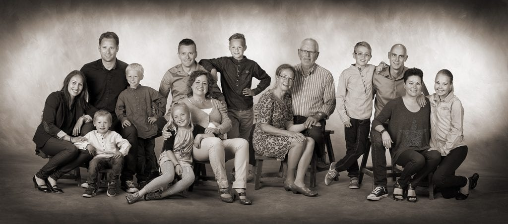 Collage familie