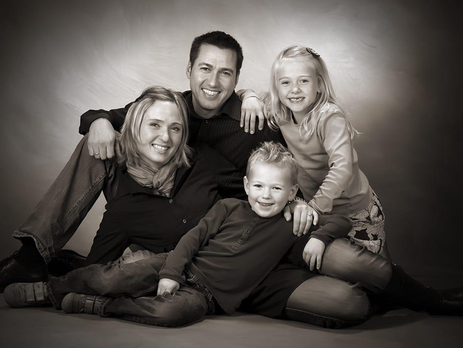 Portræt familie